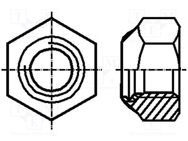 BOSSARD M5/BN1722 - Matice