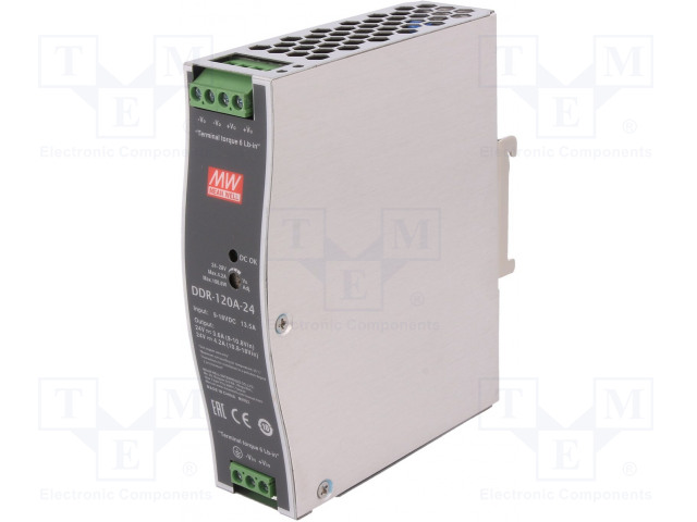 MEAN WELL DDR-120A-24 - Power supply: DC/DC