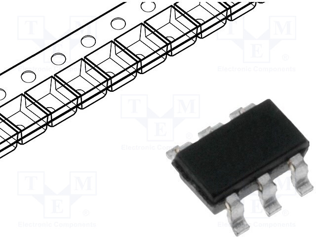 MICROCHIP TECHNOLOGY 24AA014T-I/OT - EEPROM 内存