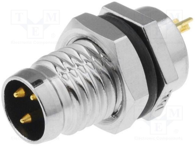 AMPHENOL LTW8-03PMMS-SF7001 - Konektor: M8