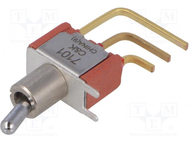C&K 7101MD9AV2BE - Schalter: Hebelschalter