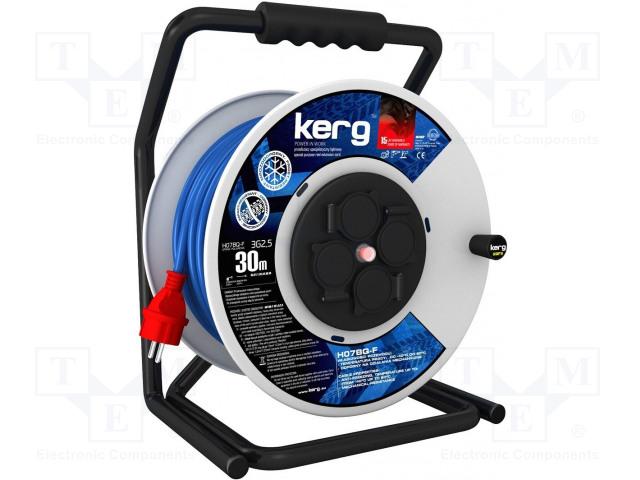 KERG KG.01.1.3G.34.30.52 - Prodlužovací síťový kabel