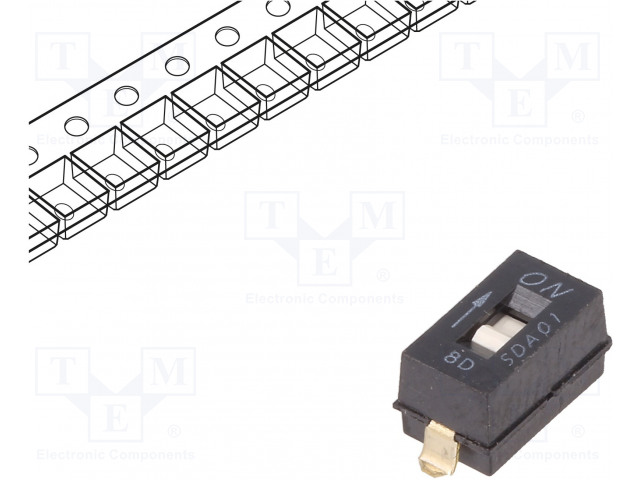 C&K SDA01H0SBR - Schalter: DIP-SWITCH