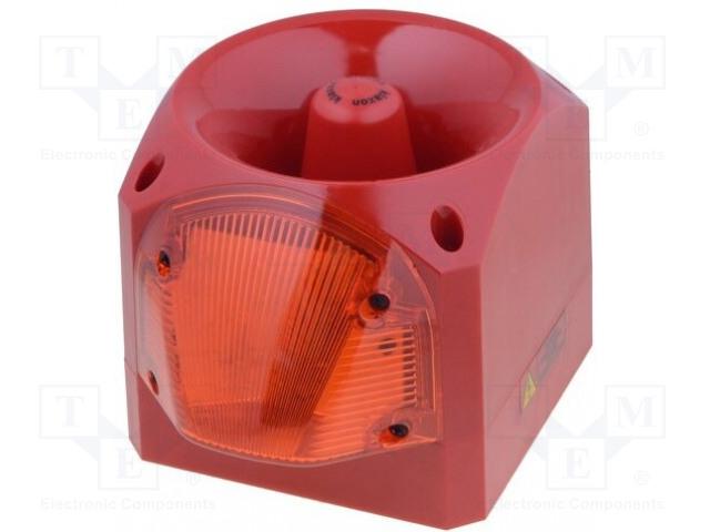 KLAXON SIGNALS PNC-0007 - Signalizátor: opticko-akustický