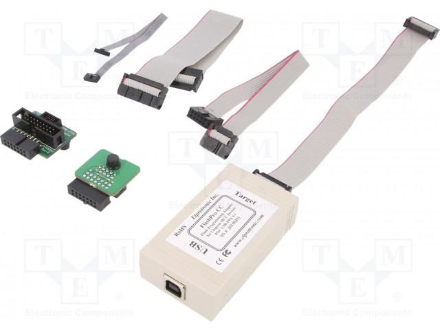 ELPROTRONIC INC. FLASHPRO-CC-STD - Programmer: microcontrollers