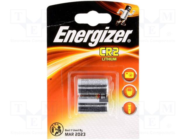 ENERGIZER PHOTO CR2 B2 - Baterie: lithiové