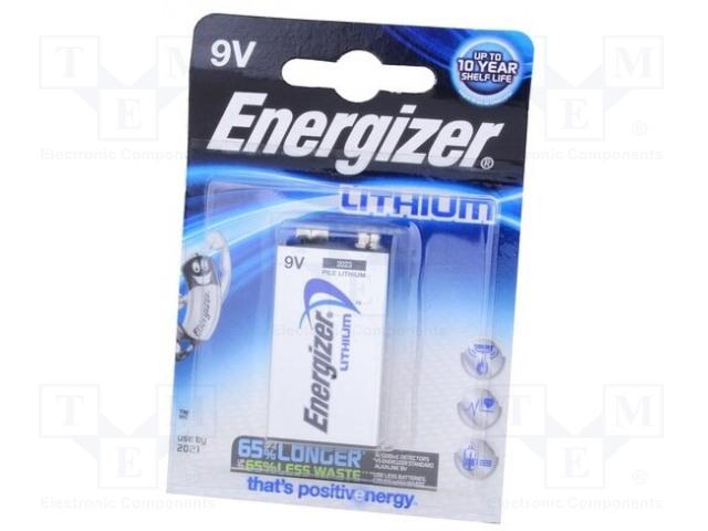 ENERGIZER LA522 ADVANCED LITHIUM - Baterie: lithiové