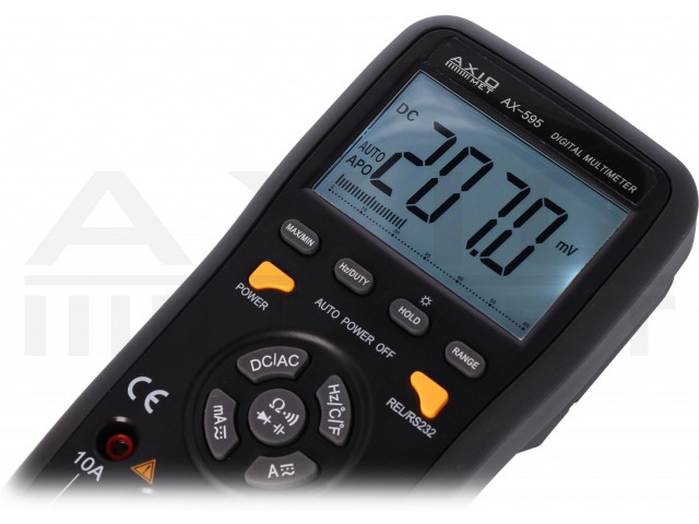 AX-595 AXIOMET, Digitaler Multimeter