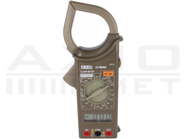 AX-M266C AXIOMET, Medidor digital de pinza CA