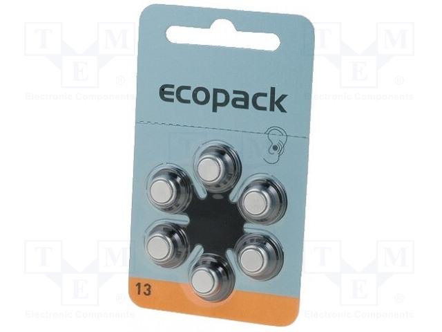 VARTA MICROBATTERY 4606 726 406 - Baterie: zinko-vzduchová (ZnO2)