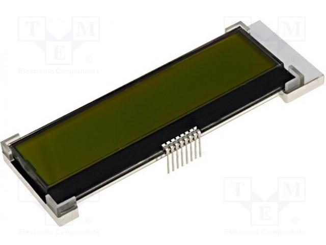 RAYSTAR OPTRONICS RX1602A3-YHW-TS - Zobrazovač: LCD