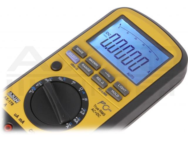 AX-178 AXIOMET, Digital multimeter