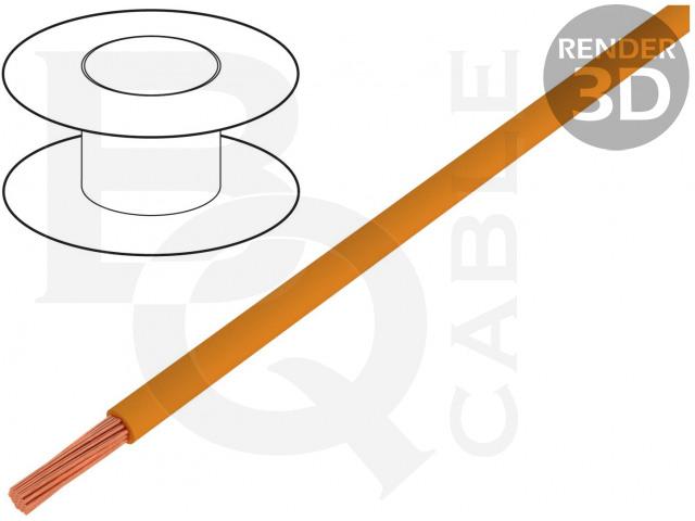 FLRYW-B0.75-OR BQ CABLE, Przewód