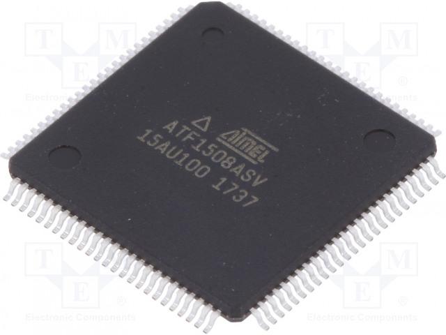 MICROCHIP TECHNOLOGY ATF1508ASV-15AU100 - IC: CPLD