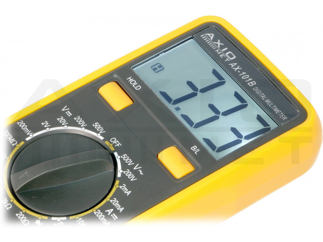 AX-101B AXIOMET, Digitale multimeter