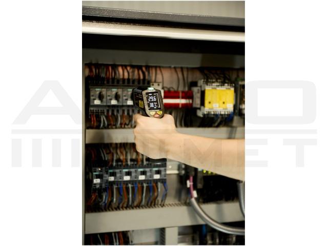 AX-7600 AXIOMET, Pirométer