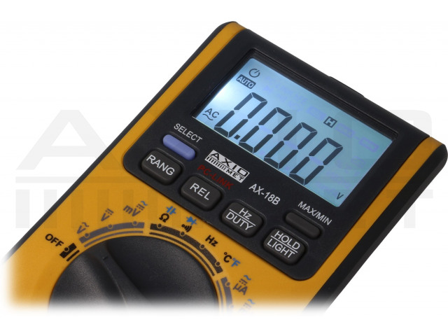 AX-18B AXIOMET, Digitaler Multimeter