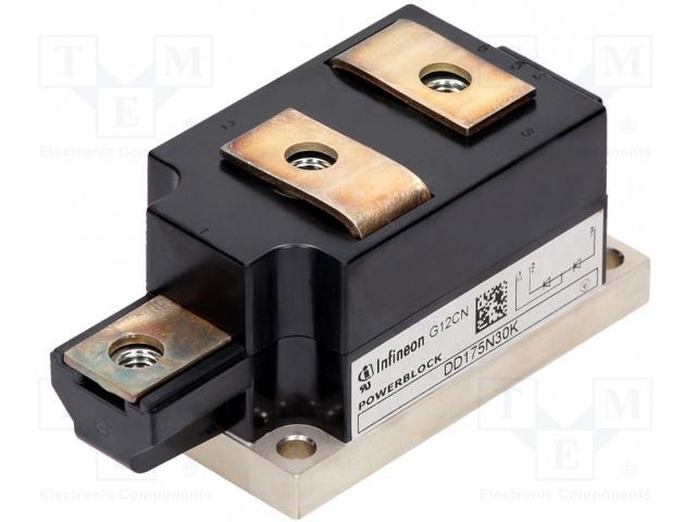 INFINEON TECHNOLOGIES DD380N16KHPSA1 - Modul: diodový