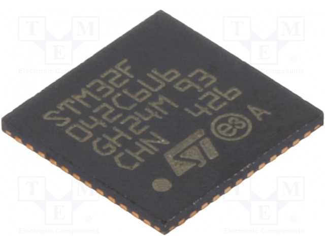 STMicroelectronics STM32F042C6U6 - Mikrokontrolér ARM