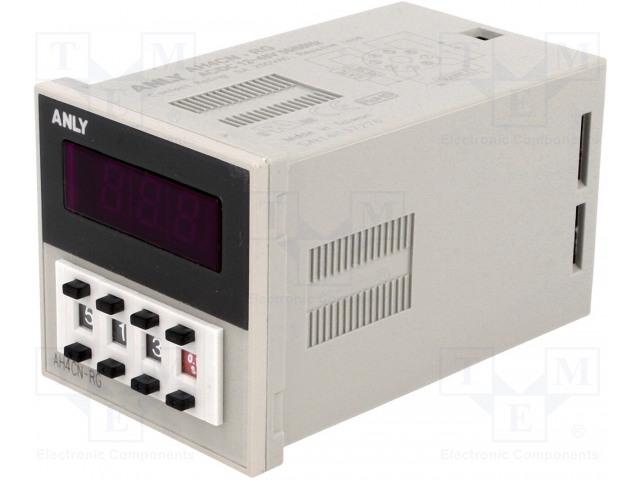 ANLY ELECTRONICS AH4CN-RG 24V - Časové relé