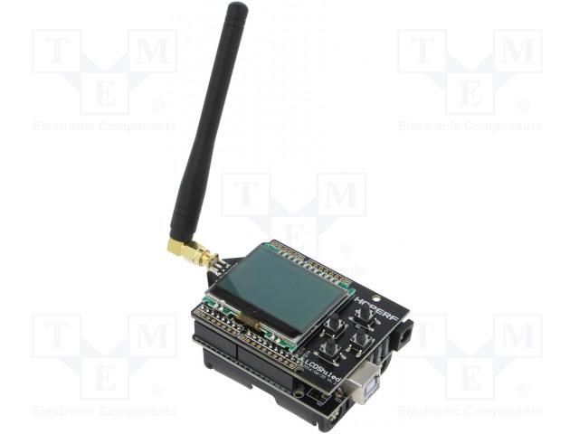 HOPE MICROELECTRONICS HOPEDUINO + 40801000479 - Výv.kit: vývojový