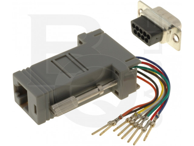 ADPT-RJ45/9M BQ CABLE, Adapter