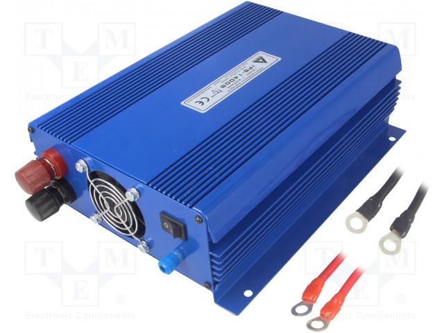 AZO DIGITAL IPS-1400S 2G - Měnič: automobilový dc/ac