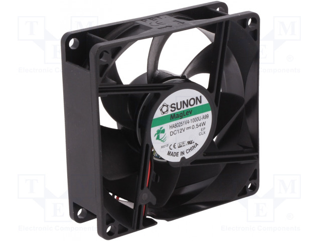 SUNON HA80251V4-1000U-A99 - Ventilátor: DC