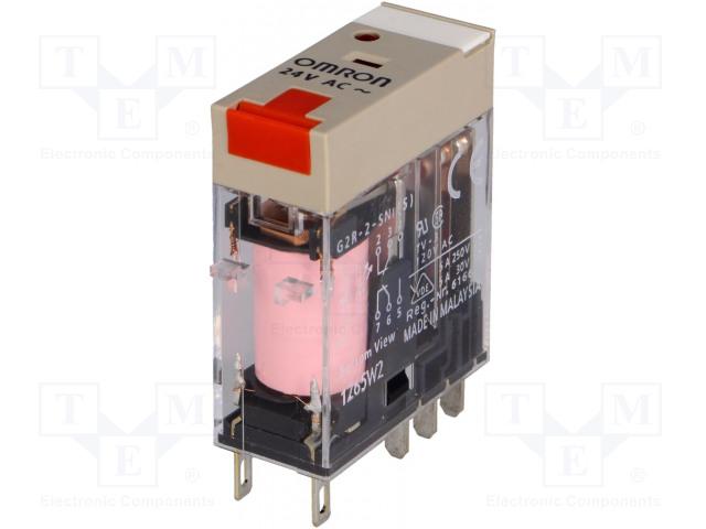 OMRON G2R-2-SNI 24VAC (S) - Relé: elektromagnetické