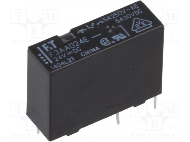 FUJITSU FTR-F3AA024E-HA - Relé: elektromagnetické