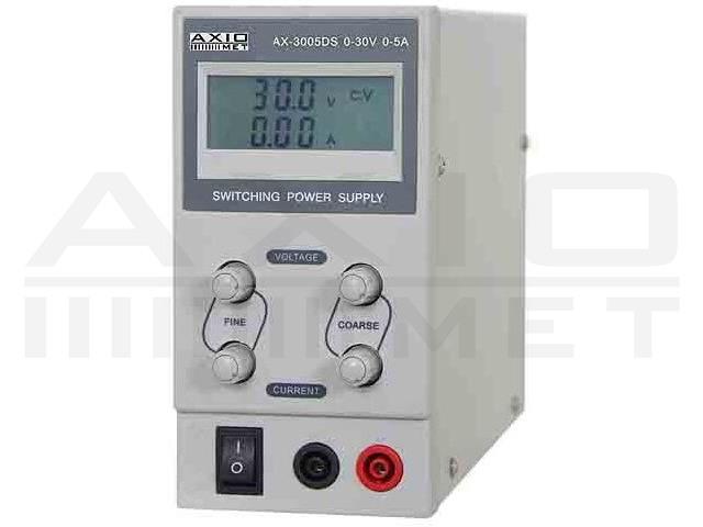 AX-3005DS AXIOMET, Voedingseenheid