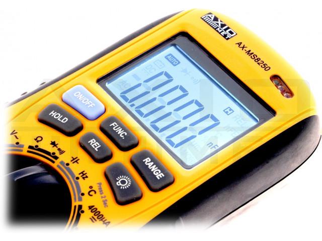 AX-MS8250 AXIOMET, Multimetro digitale