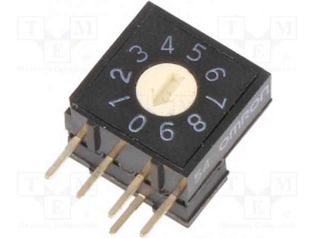 OMRON OCB A6RV-101RF - Kódový přepínač