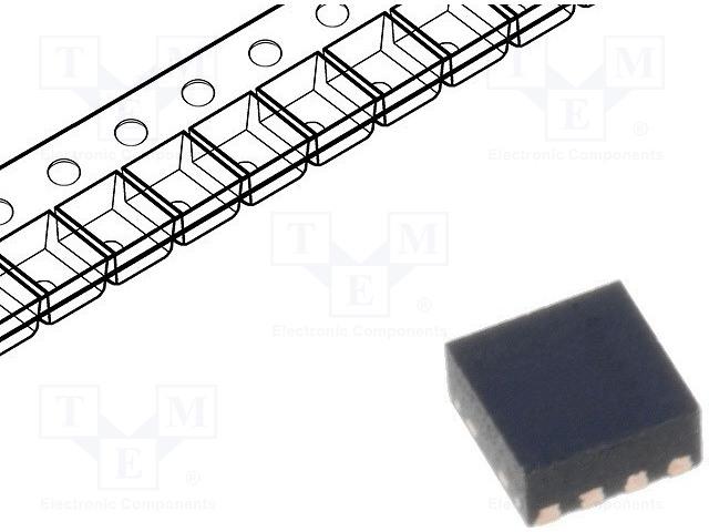 MICROCHIP TECHNOLOGY MCP1810T-42I/J8A - IC: stabilizátor napětí
