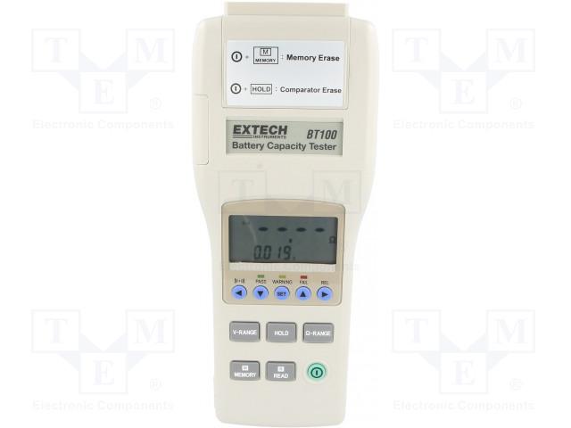 EXTECH BT100 - Zkoušečka: baterií