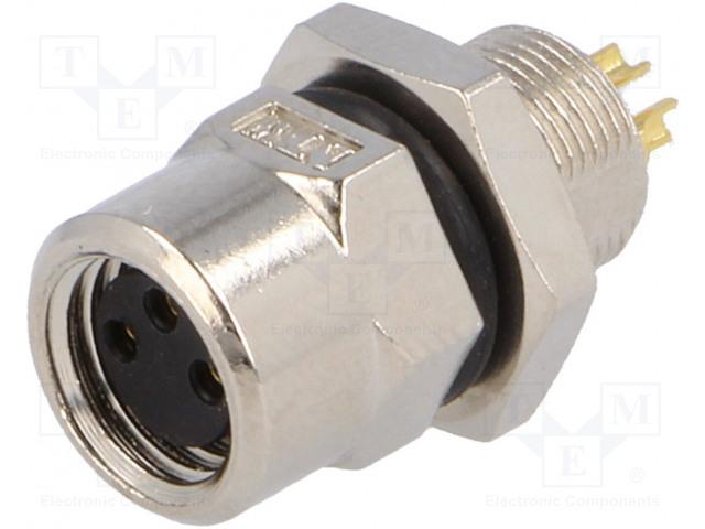 AMPHENOL LTW8-03PFFS-SH7001 - Konektor: M8