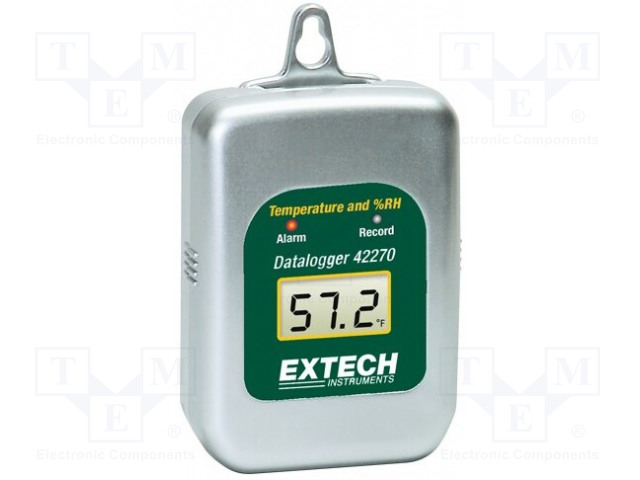 EXTECH 42270 - Záznamník: teploty a vlhkosti