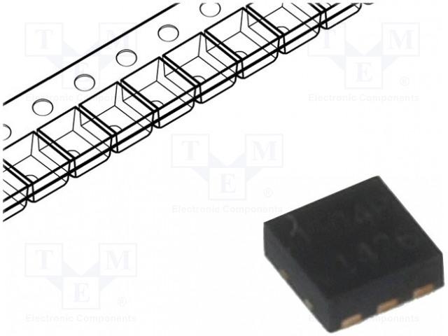 SEMTECH RCLAMP2504P.TCT - Dioda: diodová síť