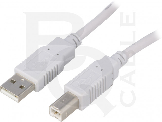 CAB-USB2AB/1.8-GY BQ CABLE, Cable