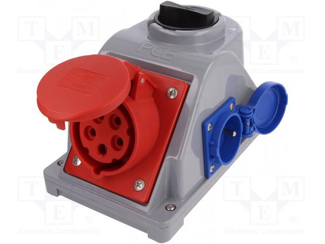 PCE 960615411W - Konektor: napájecí AC třífázové