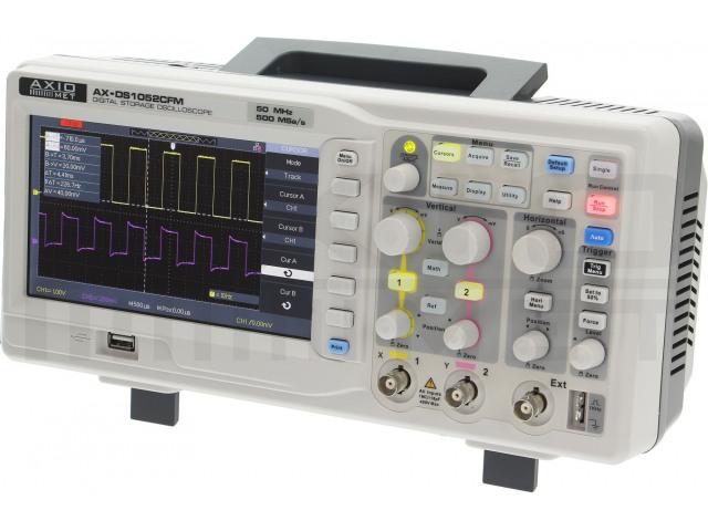 AX-DS1052CFM AXIOMET, Oscilloscoop