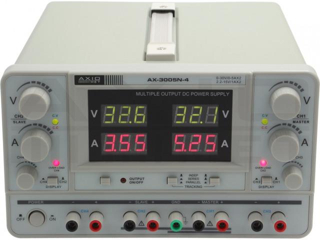AX-3005N-4 AXIOMET, Zasilacz