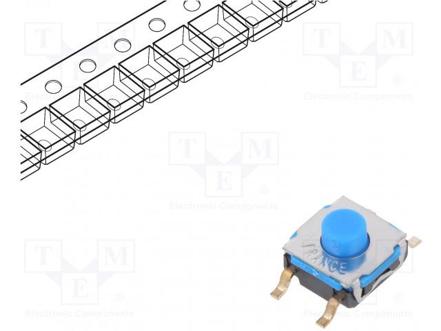 C&K KSC741G LFS - Mikroschalter TACT