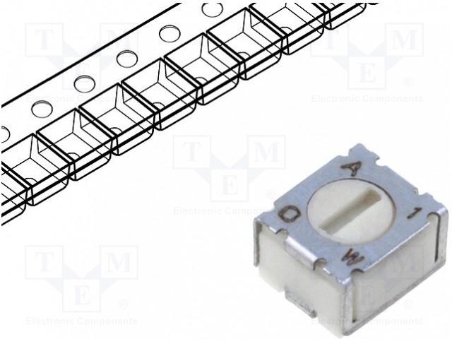 BOURNS 3312J-1-504E - Potenciometr: montážní