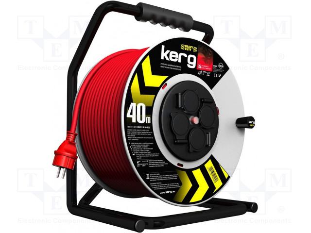 KERG KG.01.1.1A.34.40.22 - Prodlužovací síťový kabel