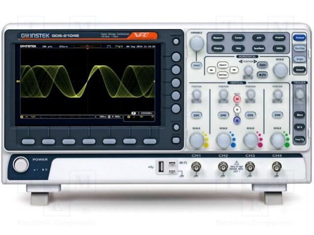 GW INSTEK GDS-2074E - Osciloskop: číslicový