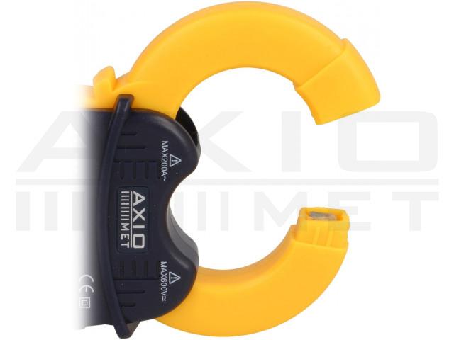 AX-200 AXIOMET, AC digitális lakatfogós multiméter