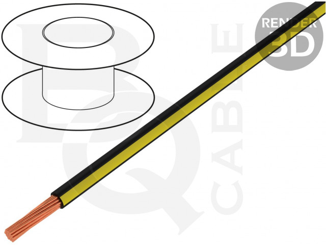 LGY0.35-BK/YL BQ CABLE, Cablu