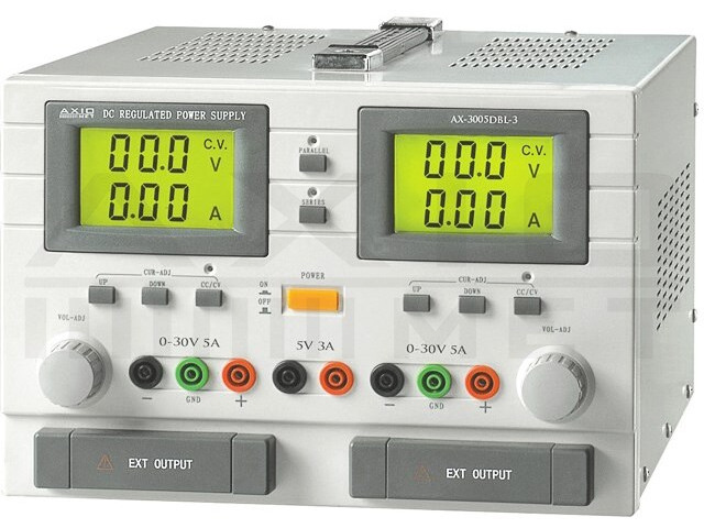 AX-3005DBL-3 AXIOMET, Zasilacz