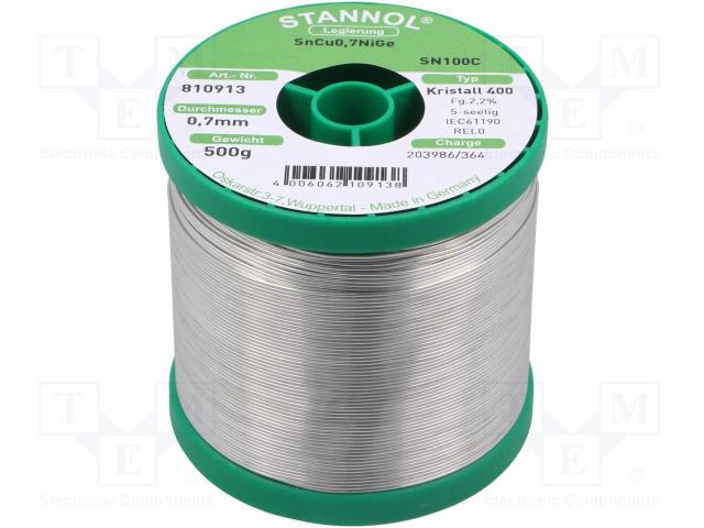 STANNOL 810913 - Pájecí drát